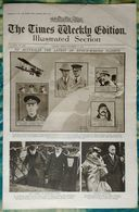Newspaper London 19/12/1919 The Times Weekly Edition Illustrated Section - Aviation Paulhan Blériot Alcock&Brown Sport - Revues & Journaux