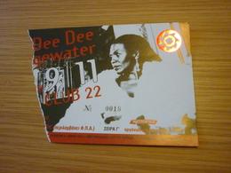 Dee Dee Bridgewater Music Concert Used Greece Greek Ticket - Concert Tickets