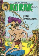 Korak Tarzans Son Nr 9 - 1977 (In Swedish) Atlantic Förlags AB - Guld Drottningen - Kattens Nio Liv - BE - Livres, BD, Revues