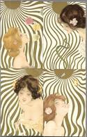 Femmes Au Soleil      Par Raphaël Kirchner  6 Cartes - Kirchner, Raphael