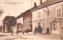 21 - COTE D OR / Saint Seine En Bache - 219106 - Rue Principale - France