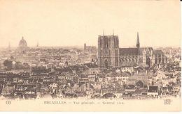 Bruxelles - CPA - Brussel - Vue Générale - Panoramische Zichten, Meerdere Zichten