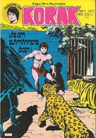 Korak Tarzans Son Nr 11 - 1977 (In Swedish) Atlantic Förlags AB - Blåmännens öken - Den Lögnaktige Mannen - Neuf - Livres, BD, Revues