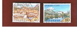 SVIZZERA  (SWITZERLAND) - 1977 EUROPA  - USED - 1977