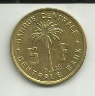 5 Francos 1952 Congo Belga - 1951-1960: Baudouin I
