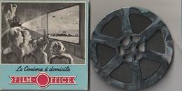"""Film Super 8  ATTENTION AUX VIPERES """" Rare """"  Le Cinema A Domicile  (TTB  état) 140 Gr - Bobines De Films: 35mm - 16mm - 9,5+8+S8mm"""