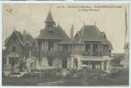 Nacqueville-Plage-Environs De Cherbourg-Le Village Normand (CPA) - Altri Comuni