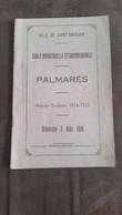 Saint-Ghislain Ecole Industrielle Et Commerciale - Palmarès Année Scolaire 1924-1925 - Diplômes & Bulletins Scolaires