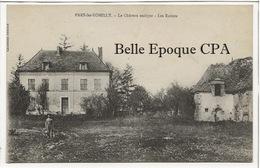10 - PARS-LÈS-ROMILLY - Le Château Antique - Les Ruines ++++ Collection Baudoin ++++ 1918 - France
