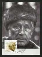 BRD 1998  Mi.Nr. 1984 , Tod Von Ernst Jünger - Hagenbach Maximum Card - Stempel Berlin Zentrum 22.4.1998 - Cartoline Maximum