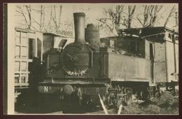 Ancienne Repro De Photo Ou CPA - Chemins De Fer De Camargue - 030 Pinguely - Voir 2 Scans - Treni