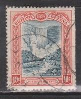BRITISH GUIANA Scott # 155 Used - Clipped Perfs Right Side - Filler - British Guiana (...-1966)