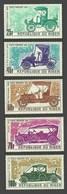 NIGER 1969 CARS DAIMLER PANHARD SET MNH - Niger (1960-...)