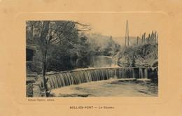 83 /SOLLIES PONT / LE GAPEAU / TRES JOLIE CARTE GAUFFREE / EIGUIER TABACS - Sollies Pont