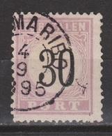 Suriname Port 6 Type 3 Used ; Port, Due, Timbre-taxe, Portzegel, Postmarke, Sellos De Correos 1886 FIRST SERIES - Suriname