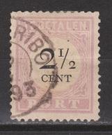 Suriname Port 9 Type 3 Used ; Port, Due, Timbre-taxe, Postmarke, Sellos De Correos 1892 - Suriname