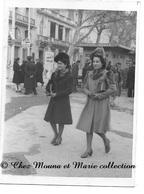 MARSEILLE DECEMBRE 1943 - STATION UVALE COURS PUGET - BOUCHES DU RHONE - PHOTO 9 X 6.5 CM - Guerre, Militaire