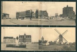 8 Postkaarten KNOKKE (2 Scans - Zie Beschrijving) - Knokke