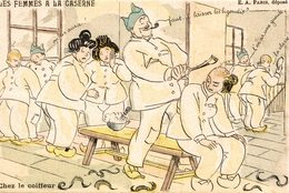 LES FEMMES A LA CASERNE - Humoristiques