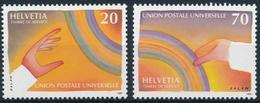 17-18 / 17-18 UPU (D X) Weltpostverien In Bern - Officials