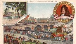 "CHROMOS  ""Edition Du CHOCOLAT LOMBART  ""Le Pont Royal"" - Lombart"