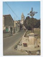 SAINT GEORGES D' ORQUES 34 Calvaire Et Rue Vers L' église-- Dos Scanné- B12 - Frankreich