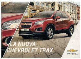 BROCHURE UFFICIALE CHEVROLET TRAX - Automobili