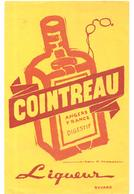 Buvard COINTREAU Angers France Digestif Liqueur - Liquor & Beer