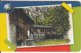 BULGARIA(chip) - Teherepishki Monastery, Mobika Telecard 300 Units, Tirage 20000, 03/03, Used - Bulgaria