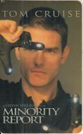 BULGARIA(chip) - Tom Cruise 4/Minority Report, Mobika Telecard 50 Units, Tirage 50000, 09/02, Used - Bulgaria