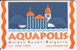 BULGARIA(chip) - Aquapollis(19SLBD), Mobika Telecard 100 Units(type 2), Tirage 10000, 08/03, Used - Bulgaria
