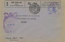 "1973 , PONTEVEDRA , FRANQUICIA - COMANDANCIA / FRAGATA RÁPIDA "" RAYO "" ,FECHADOR ESC. NAVAL MILITAR / MARIN / PONTEVEDRA - 1931-Today: 2nd Rep - ... Juan Carlos I"