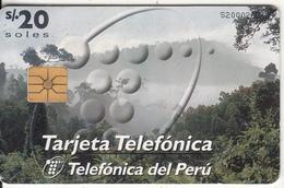 PERU - Rain Forest, Telefonica Telacard(matt Surface), Chip GEM1a, 12/96, Used - Peru