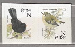 BIRDS Ireland 2001 Blackbird And Goldcrest MNH(**) Mi 1373-1374 SA #22420 - Oiseaux