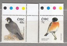 BIRDS Ireland 2003 Stonechat And Falcon MNH(**) Mi 1523-1524 #22422-1 - Oiseaux