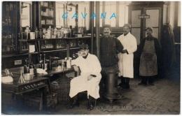 33 BORDEAUX - Hopital Temporaire 26 -Laboratoire - Carte-photo - Bordeaux
