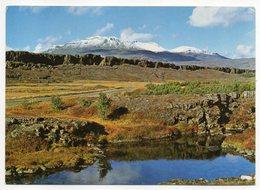 Islande--1972--THINGVELLIR  ...............timbre....  Cachet  .... Carte Destinée à La France - Iceland