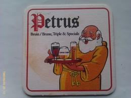 Posavasos Cerveza Petrus. Bélgica. Años '90 - Portavasos