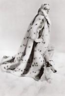 USA Mode Feminine Annees 60 Lou Nierenberg Manteau Fausse Fourrure Lynx Ancienne Photo - Other