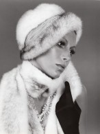 USA Mode Feminine Annees 60 Arnold Of Emme Toque En Vison Ancienne Photo - Photographs
