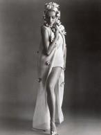 USA Mode Feminine Annees 60 Nina Ricci Ensemble De Plage Celanese Tricot Ancienne Photo - Other