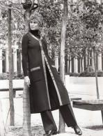 USA Mode Feminine Annees 60 Robe Adele Martin Manteau Tricot Double Laine Ancienne Photo - Photographs