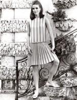 USA Mode Feminine Annees 60 Kelly Arden Jupe Dacron Klopman Ancienne Photo - Other