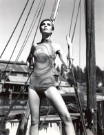 USA Mode Feminine Annees 60 Cole Of California Maillot De Bain Psychedelique Ancienne Photo - Photographs