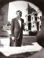 Rome Coliseum Mode Masculine Annees 70 J.P. Stevens Textile Ancienne Photo - Photographs