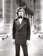 Rome Colonnade Du Bernin Mode Masculine Annees 70 J.P. Stevens Hardy Amies Ancienne Photo - Other