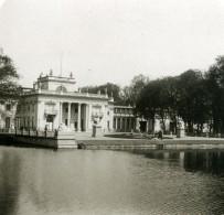 Pologne Varsovie Warszawa Chateau De Lazienki Ancienne Photo Stereo NPG 1905 - Photos Stéréoscopiques