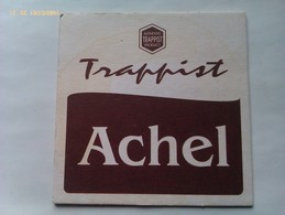 Posavasos Cerveza Trappist Achel. Bélgica. Años '90 - Portavasos