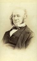 France Paris William Gladstone Politique Britannique Ancienne Photo CDV Disderi 1870 - Photographs