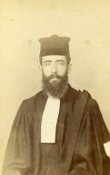 France Paris Avocat Homme Mode Ancienne Photo CDV Oricelly 1900 - Photographs